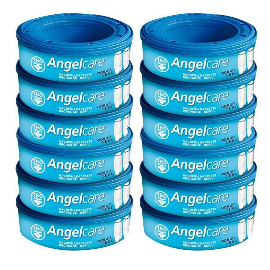 Angelcare® Nachfüllkassetten Plus für Comfort und Deluxe 12er Pack