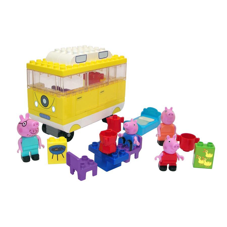 BIG Briques enfant PlayBIG Bloxx Peppa Pig - camping-car