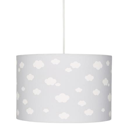 LIVONE hanglamp Happy Style voor Kids CLOUD 7 zilvergrijs/wit