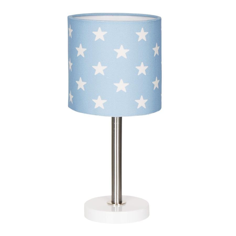 LIVONE tafellamp Gelukkig Style voor kinderen STARS blauw/wit