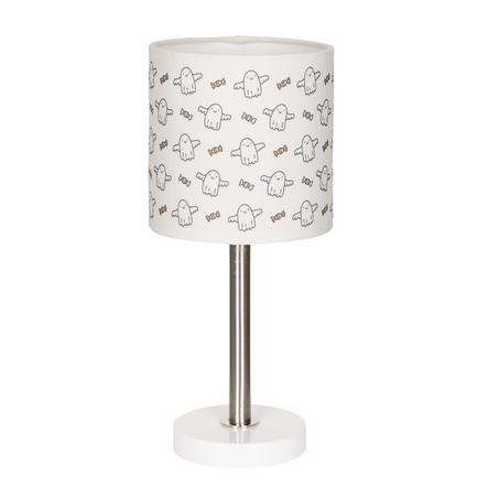 LIVONE bordlampe Happy Style for Børn BABYGHOST hvid / sort