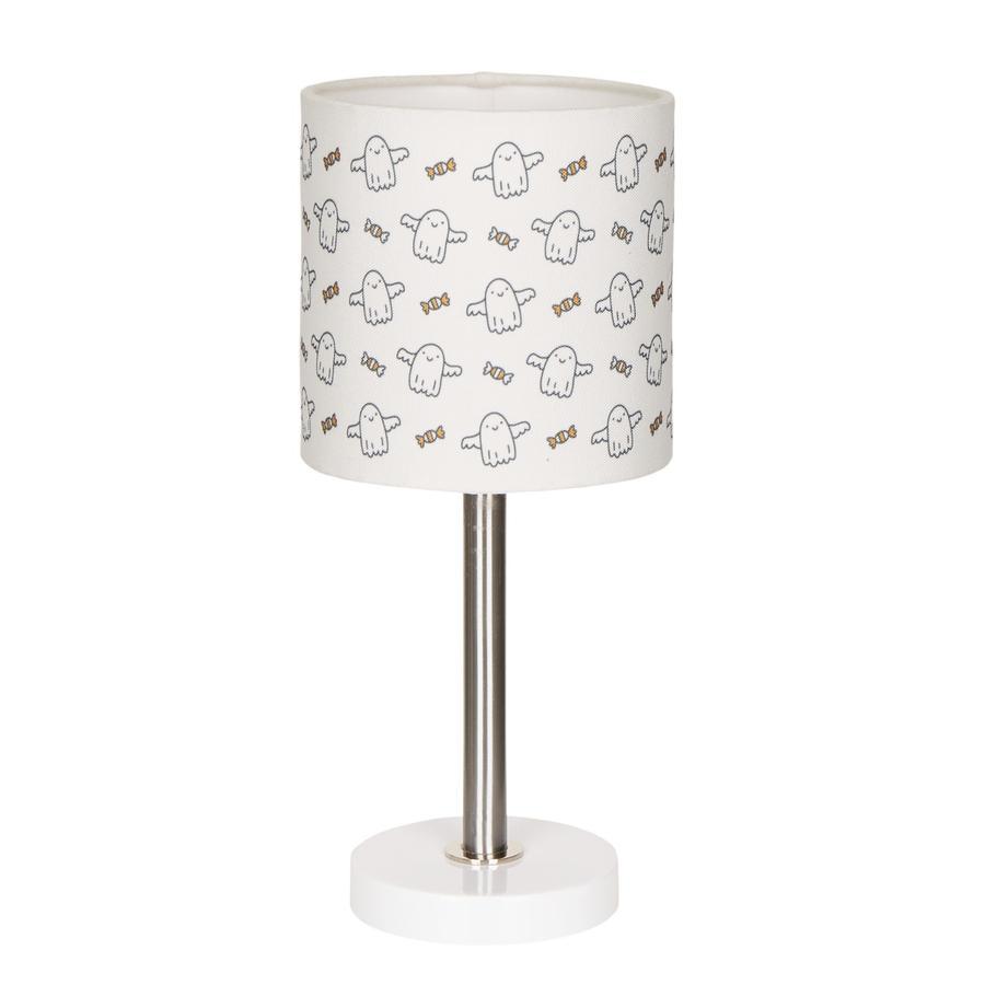 LIVONE Tischlampe Happy Style for Kids BABYGHOST weiß/schwarz