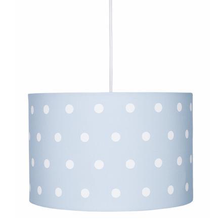 LIVONE hanglamp Happy Style voor Kids DOTS blauw/wit