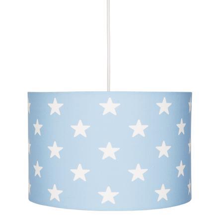 LIVONE Hängelampe Happy Style for Kids STARS blau/weiss