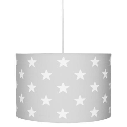 LIVONE hængelampe Happy Style for Kids STJERNET sølvgrå / hvid