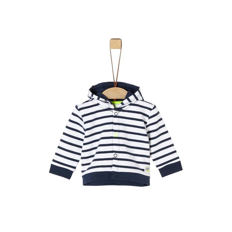 s. Oliven r Sweatjacket marine striper