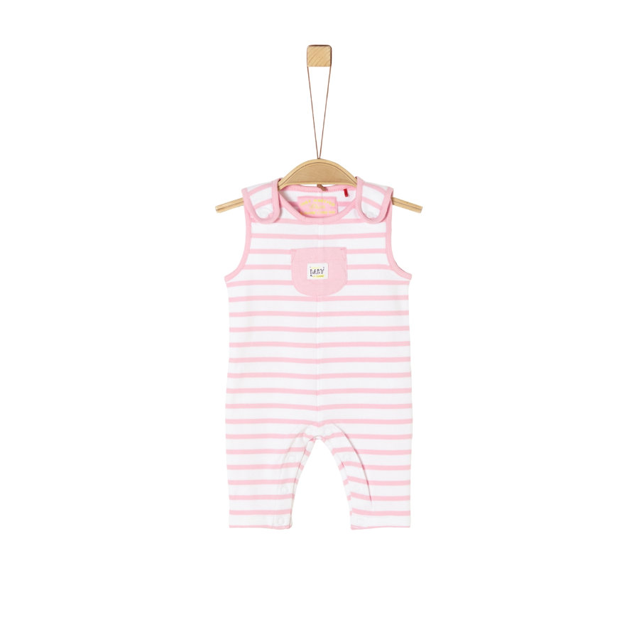 s.Oliver Overall rosa stripes