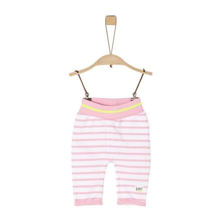 s. Olive r Zweetbroek light roze stripes