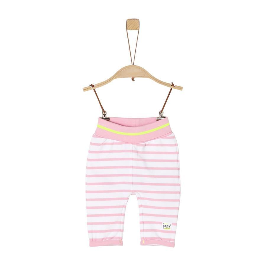 s. Olive r Pantalon light de survêtement rose stripes
