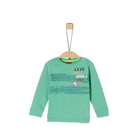 s. Olive r Långärmad skjorta grön