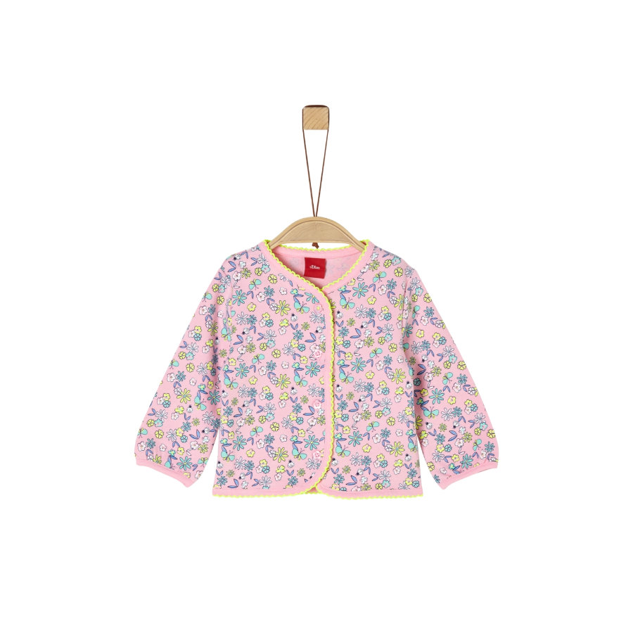 s. Oliven r Sweatjacket pink