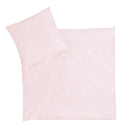 JULIUS ZÖLLNER Maglia da letto in jersey riccio/ rosa stellare 80 x 80 cm