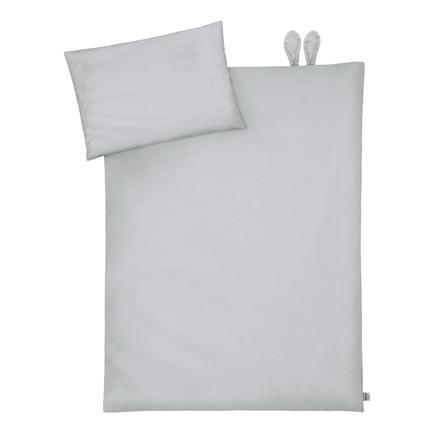 JULIUS ZÖLLNER sengetøy med ører Piqué Grå 100 x 135 cm