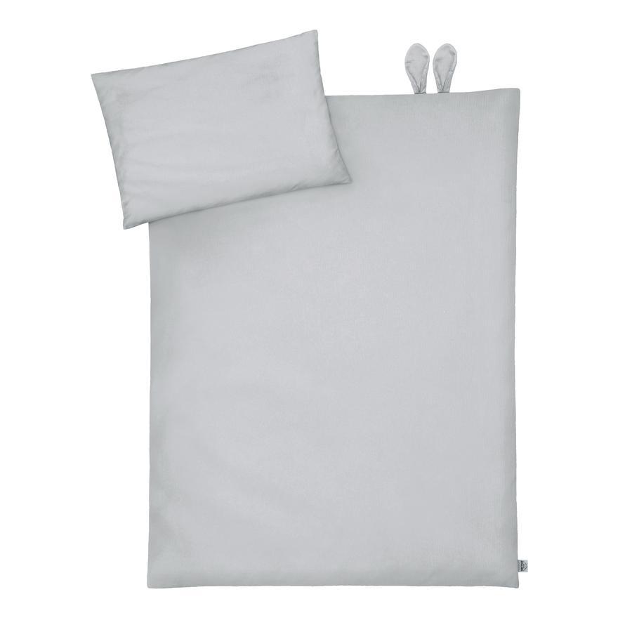 JULIUS ZÖLLNER sengetøj med ører Piqué Grå 100 x 135 cm