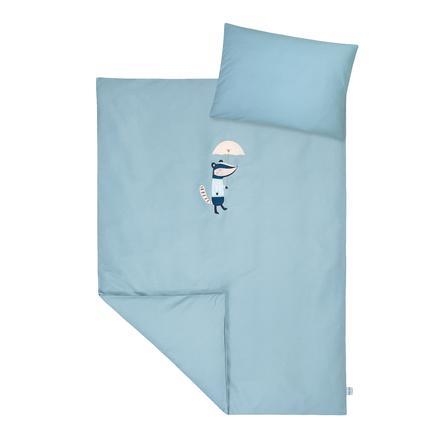JULIUS ZÖLLNER sengetøj med applikation Dietmar 100 x 135 cm