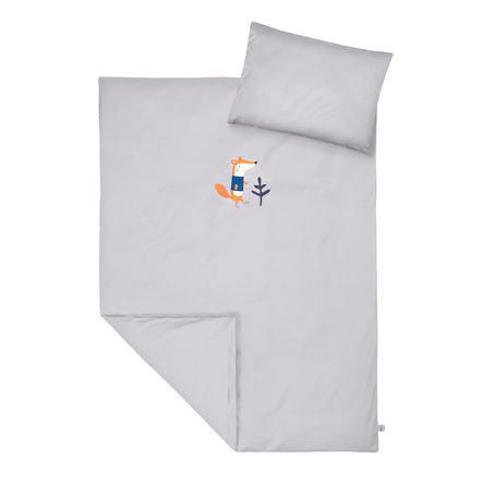 JULIUS ZÖLLNER sängkläder med applicering av Ferdinand räven 100 x 135 cm