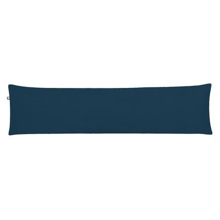 JULIUS ZÖLLNER Seitenschläferkissen Waffelpiqué Night Blue