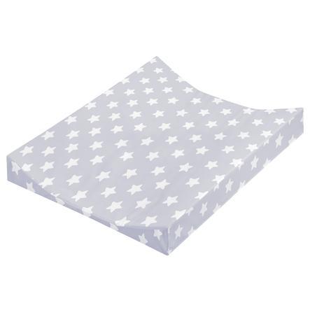 Cambiador JULIUS ZÖLLNER Bandeja de 2 bordes de papel de aluminio estrellas gris 50 x 65 cm