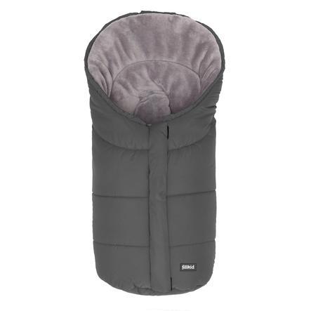 FILLIKID Wintervoetenzak Eiger maat 1 voor autostoelen Polyester-Pongee grijs
