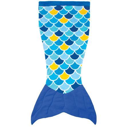 XTREM Leker og sport - FIN MOR Cuddle Tails havfrueteppe, Wave Blue