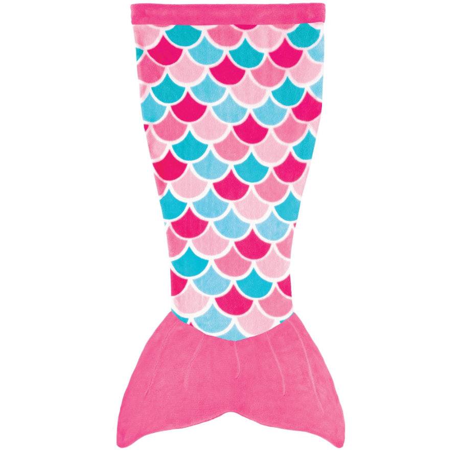 XTREM Legetøj og sport - FIN FUN Cuddle Tails havfrue tæppe, Pink Dream