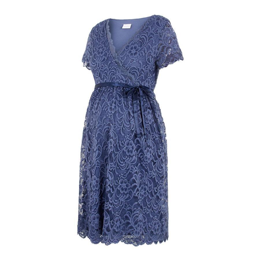 maminka  zákonné MLMIVANE kojící šaty Indigo Blue