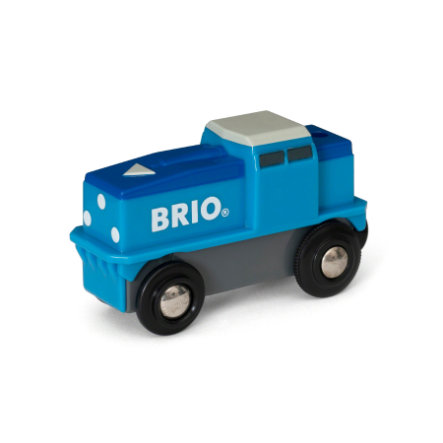 BRIO® WORLD Blaue Batterie - Frachtlok 33130