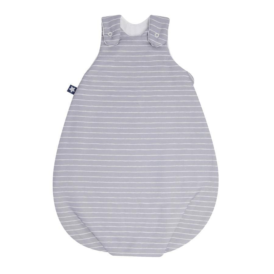 JULIO ZÖLLNER Saco de dormir de Jersey Koon Grey Stripes