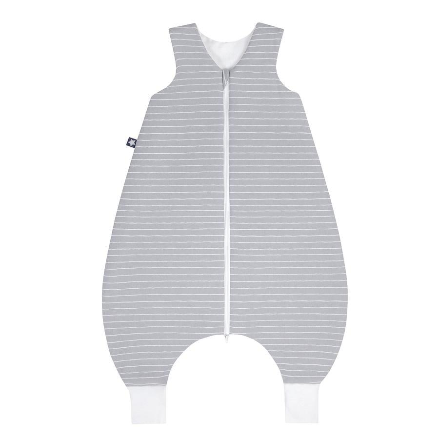 JULIUS ZÖLLNER Jersey Sommer-Jumper Grey Stripes