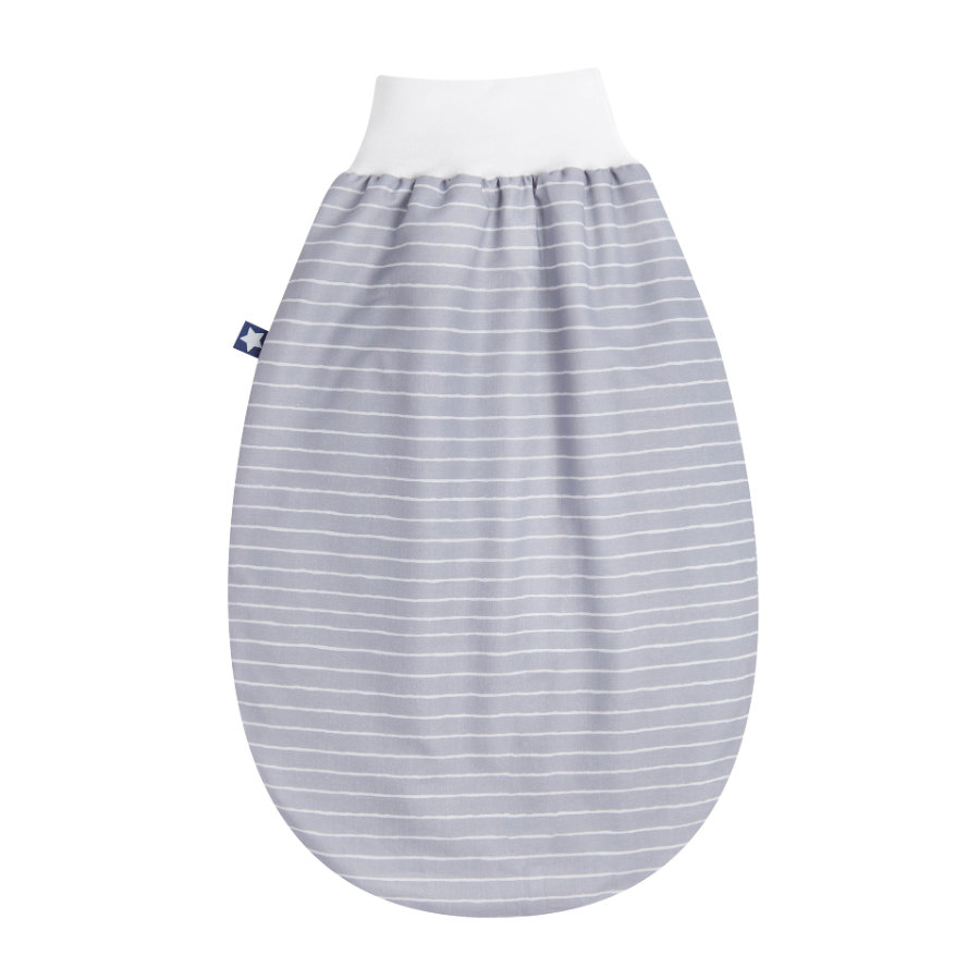 JULIUS ZÖLLNER Demi gigoteuse bébé Jersey Grey Stripes