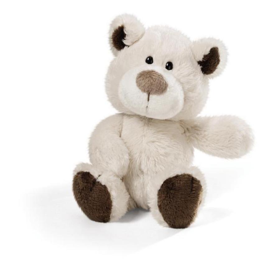 NICI Classic Bear - Björn creme/brun - Dinglis 15 cm