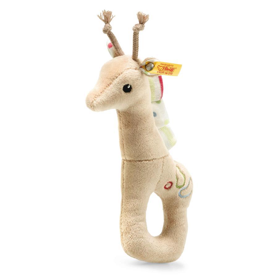 Steiff Grip-ring med rangle giraffe Tulu 17 cm