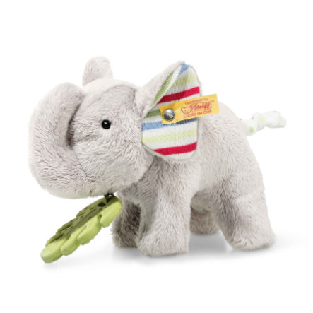 Steiff Greifring mit Rassel Elefant Timmi 17 cm