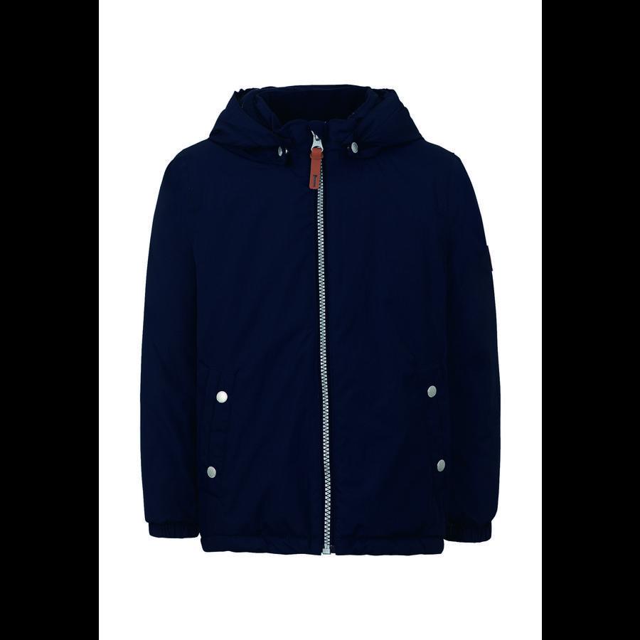 TICKET TO HEAVEN Jacke Maxi mit abnehmbarer Kapuze, blau