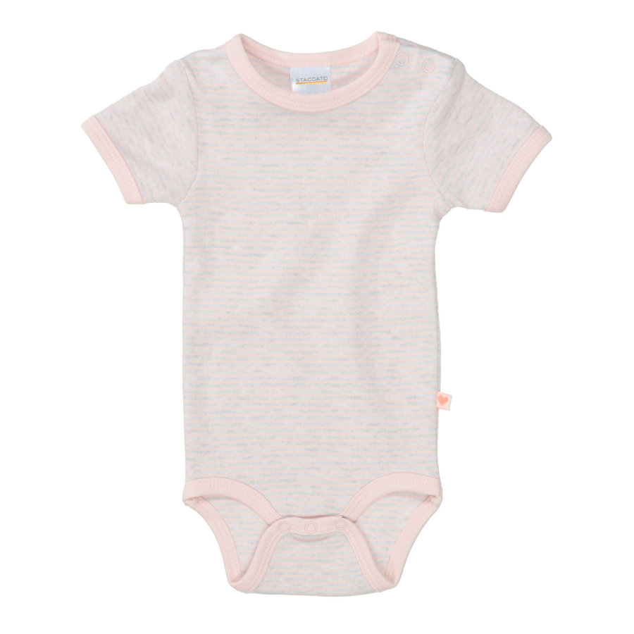 STACCATO Body 1/2 Arm soft rose gestreift