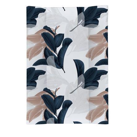 rotho babydesign Klinowa mata do przewijania Nordic Garden white 50 x 70 cm