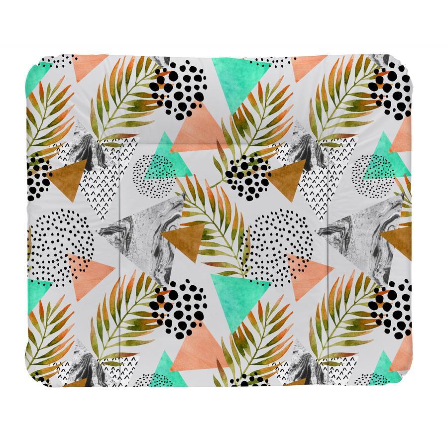 Rotho Baby design Bytesplatta Modern Paradise vit 72 x 85 cm