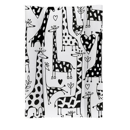 Rotho Babydesign Keilwickelauflage Happy Family weiß 50 x 70 cm