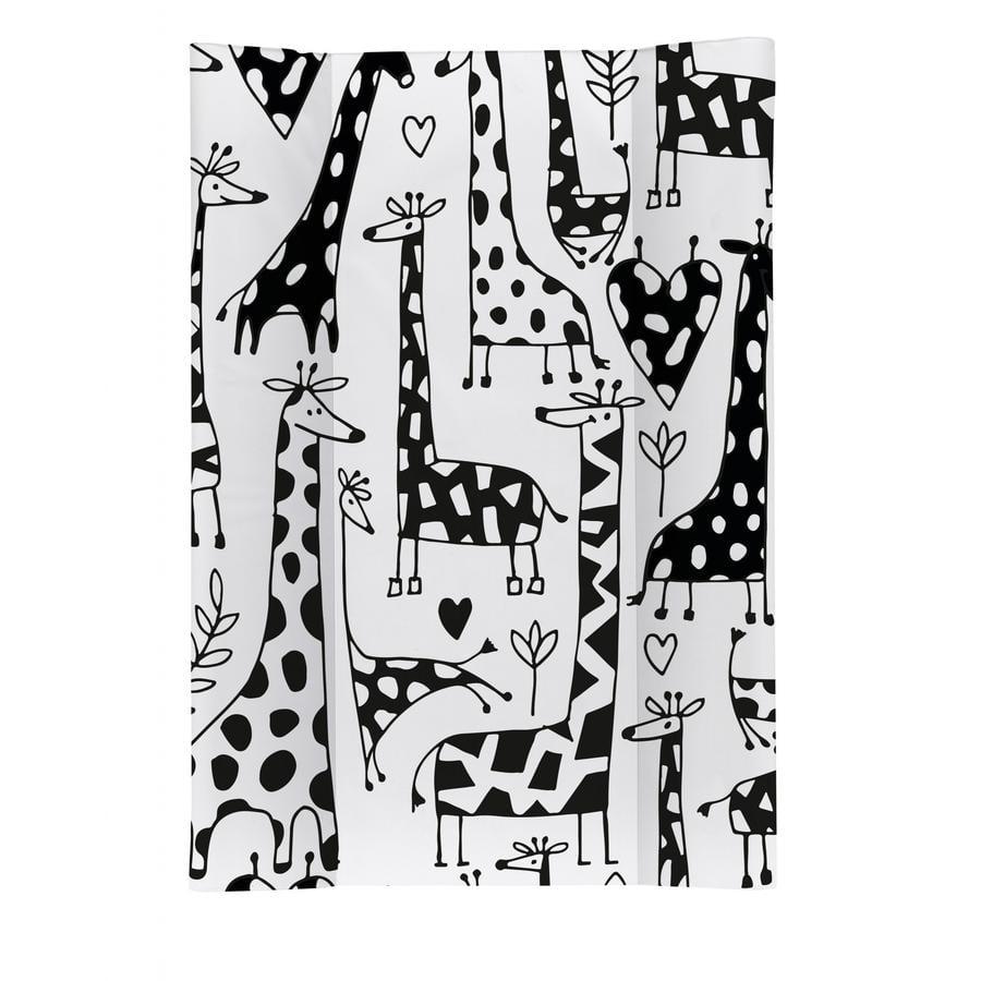 Rotho Kiilahoitoalusta Kirahvi mustavalkoinen 50 x 70 cm