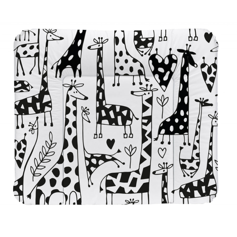 Rotho Babydesign Mata do przewijania Happy Family white72 x 85 cm
