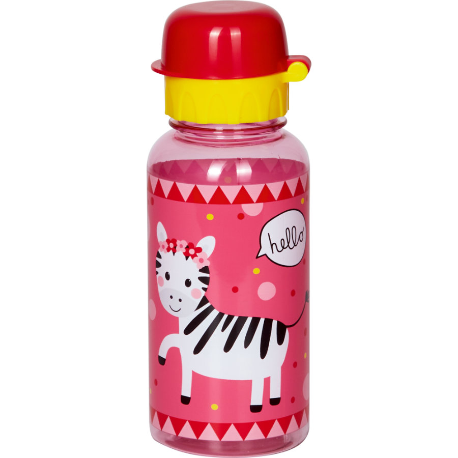 SPIEGELBURG COPPENRATH Trinkflasche Zebra - Kleine Freunde