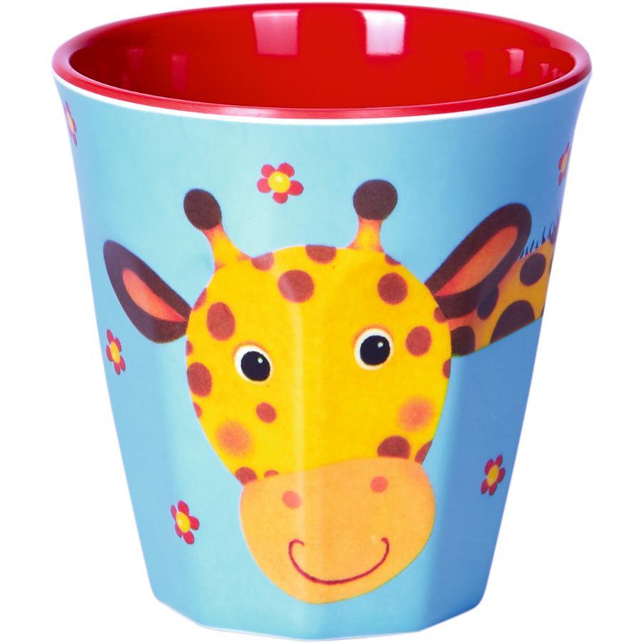 SPIEGELBURG COPPENRATH Melamin-Becher - Giraffe Freche Rasselbande