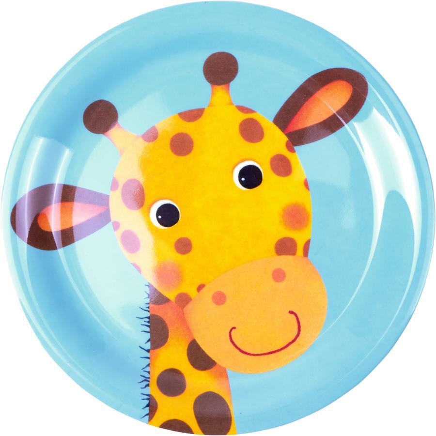 COPPENRATH Melamin-Teller - Giraffe Freche Rasselbande
