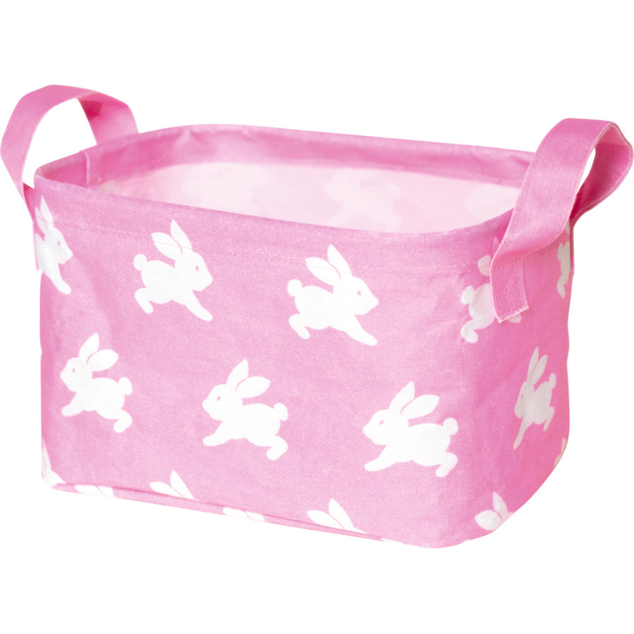 COPPENRATH Malý úložný box růžový - BabyGlück