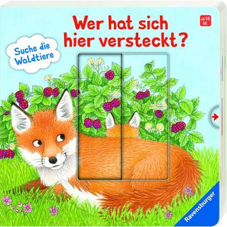 Ravensburger Wer hat sich hier versteckt? Suche die Waldtiere