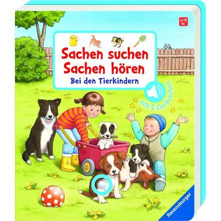 Ravensburger Sachen suchen, Sachen hören: Bei den Tierkindern
