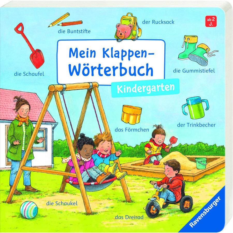 Ravensburger Mein Klappen-Wörterbuch: Kindergarten