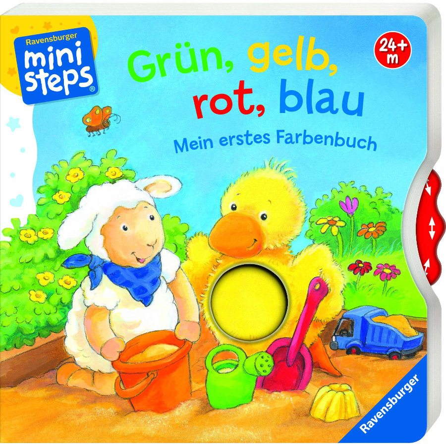 Ravensburger ministeps® Mein erstes Farbenbuch: Grün, gelb, rot, blau
