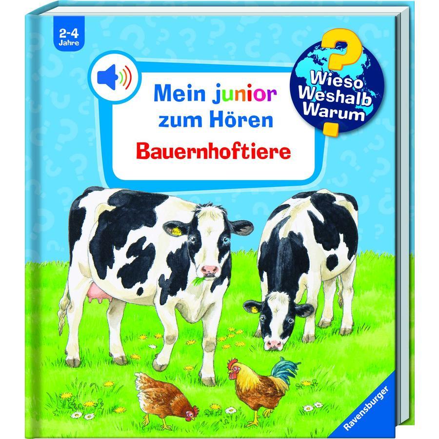 Ravensburger Wieso? Weshalb? Warum? Mein Junior zum Hören Band 1: Bauernhoftiere