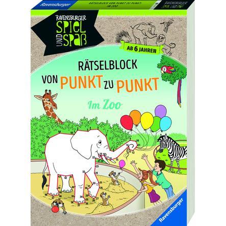 Ravensburger Rätselblock Von-Punkt-zu-Punkt: Im Zoo